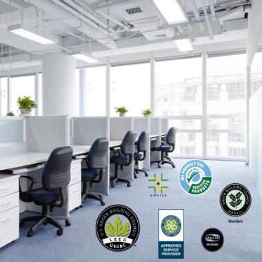 Como comprovar as certificações dos serviços credenciados de manutenção de carpetes