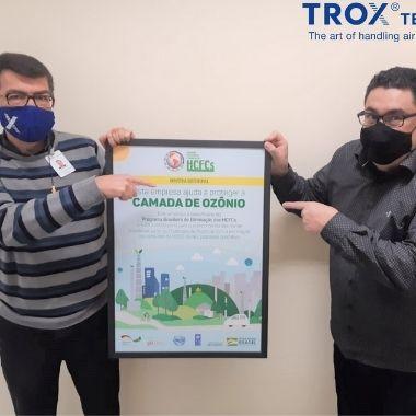 TROX é reconhecida por contribuir com a proteção da camada de ozônio
