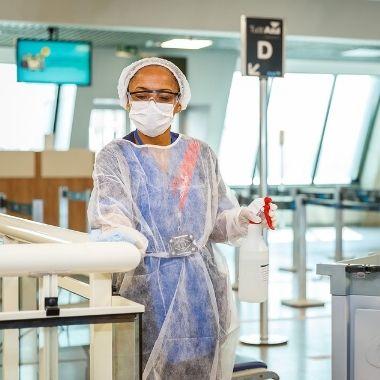 Salvador Bahia Airport conquista certificação sanitária do ACI